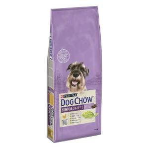 Bilde av DOG CHOW SENIOR 9+ KYLLING 14kg